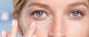 убрать морщины под глазами